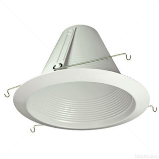 6 in. - White - Airtight Baffle Cone - Aluminum - Premium Quality Brand PTM713WBAL - Light Fixture Accessory
