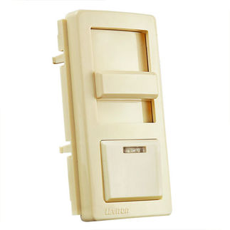 Leviton IllumaTech IPKIT-A - Color Change Kit for IllumaTech Dimmers - Almond