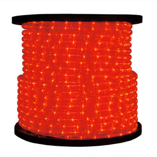 Red - Rope Light - 150 ft. Spool - American 033-RD