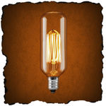25 Watt - Antique Light Bulb - Radio -Thread Filment