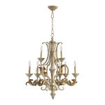 Quorum 6037-9-70 - Chandelier - 9 Light - Persian White