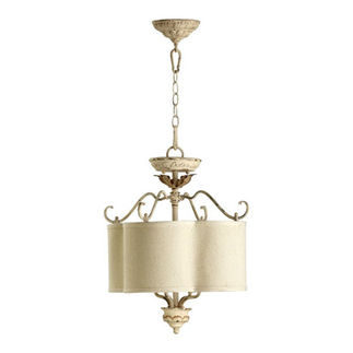 Quorum 2706-18-70 - Scalloped Pendant - 4 Light - Persian White