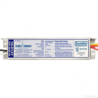 Atlantic Ultraviolet 10-0137 - Surelite Electronic Ballast for Germicidal Lamps - 120 Volt