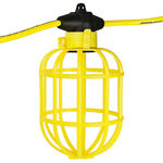 100 ft. String Light with 10 Lamp Holders and Guards - 14/2 SJTW - PLT GL100-142