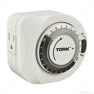 Tork 402A | Mechanical Plug-In Timer | 125VAC