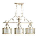Quorum 6506-3-70 - Island Pendant - 3 Light - Persian White Finis