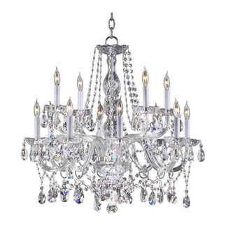 Quorum 630-12-514 - Chandelier - 12 Light - Chrome
