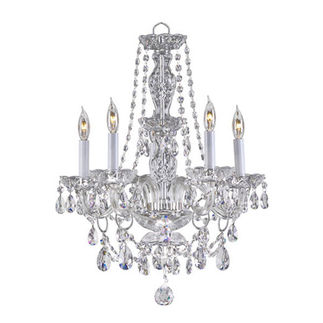 Quorum 630-5-514 - Chandelier - 5 Light - Chrome