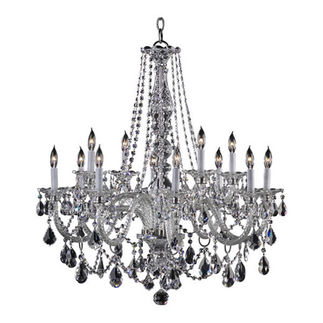 Quorum 664-12-514 - Chandelier - 12 Light - Chrome