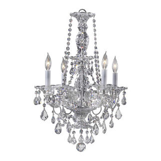 Quorum 664-4-514 - Chandelier - 4 Light - Chrome