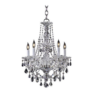 Quorum 664-5-514 - Chandelier - 5 Light - Chrome
