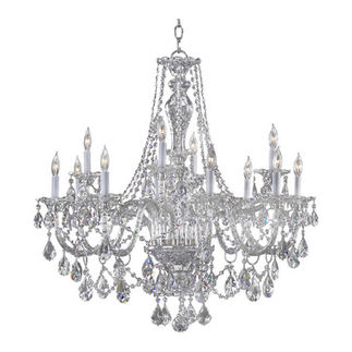 Quorum 665-12-514 - Chandelier - 12 Light - Chrome