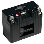 UPG 48054 - APP14A1-BS12 - Motorcycle Battery - Lithium Iron Phosphate (LiFePO4) - 12 Volt - 14 Ah Capacity - Right Polarity
