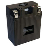 UPG 48059 - APP14L5-BS12 - Motorcycle Battery - Lithium Iron Phosphate (LiFePO4) - 12 Volt - 14 Ah Capacity - Left Polarity
