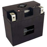 UPG 48064 - APP21A6-BS12 - Motorcycle Battery - Lithium Iron Phosphate (LiFePO4) - 12 Volt - 21 Ah Capacity - Right Polarity