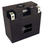 UPG 48065 - APP21L6-BS12 - Motorcycle Battery - Lithium Iron Phosphate (LiFePO4) - 12 Volt - 21 Ah Capacity - Left Polarity