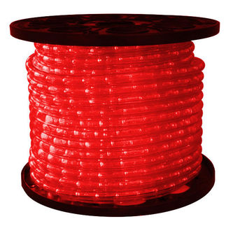 LED - Red - Rope Light - 150 ft. Spool