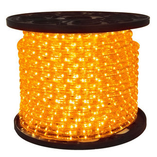 LED - Amber - Rope Light - 150 ft. Spool