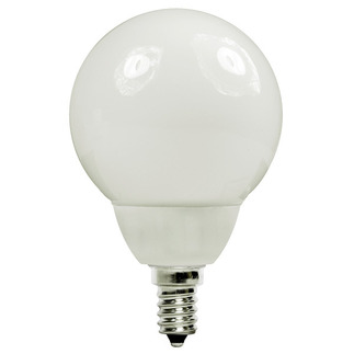 7 Watt - G16 CFL - 30 W Equal - 2700K Warm White - 80 CRI - 50 Lumens per Watt - 15 Month Warranty - Candelabra Base - Energy Miser FE-G16-7W/27K
