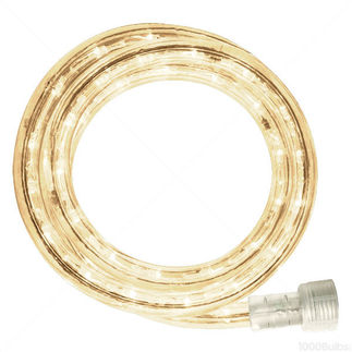 LED - 30 ft. - Rope Light - Ultra Warm White - 120 Volt - Includes Easy Installation Kit - American LR-LED-UWW-30