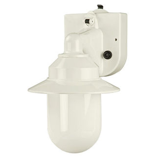 Portable RV Light - Weather Resistant - 1 Light - White Finish - Polymer Products 2101-10000-P