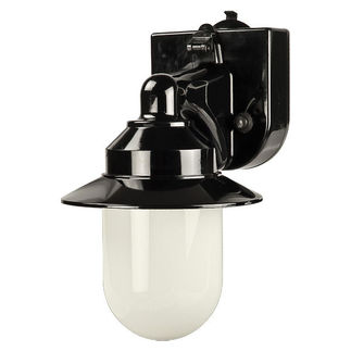 Portable RV Light - Weather Resistant - 1 Light - Black/White Finish - Polymer Products 2104-10000-P