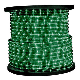 Green - Rope Light - 150 ft. Spool - American MDL-GR
