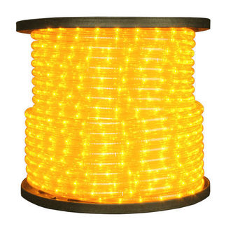 Yellow - Rope Light - 150 ft. Spool - American NEO-MDL-YE-12V
