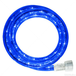 Incandescent - 12 ft. - Rope Light - Blue- 120 Volt