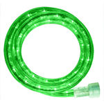 Incandescent - 18 ft. - Rope Light - Green - 120 Volt