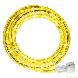 Incandescent - 18 ft. - Rope Light - Yellow - 120 Volt