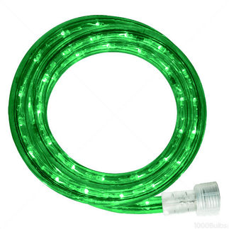 Incandescent - 50 ft. - Rope Light - Green - 120 Volt