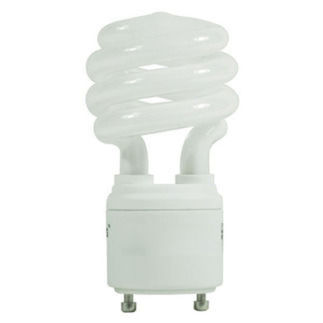23 Watt - 100 W Equal - 4100K Cool White - CFL - GU24 Base - GCP 195
