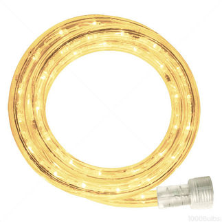 Incandescent - 30 ft. - Rope Light - Warm White (Clear) - 120 Volt - Includes Easy Installation Kit - American 042-CL-30