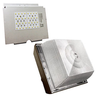 LED Canopy Light - 42 Watt - 2600 Lumens - 5161K Stark White - 120/277 Volt - AC Electronics AC-106/36/350