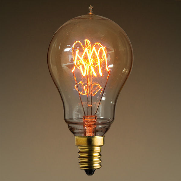 25W Antique Edison Light Bulb - 3 Loop Tungsten Filament