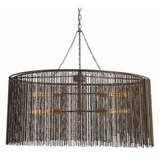 Arteriors 46763 - Oval Beaded Chandelier