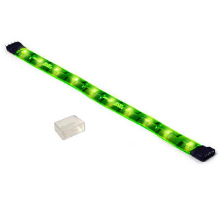 (12 Inch) 1.5 Watt - Green - 65 Lumens - 12 Volt - Dimmable LED Tape Light
