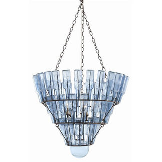 Arteriors 89327 - Iron & Glass Chandelier
