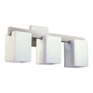 Quorum 5076-3-65 - Bathroom Sconce - 3 Light