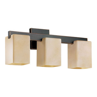 Quorum 5076-3-95 - Bathroom Sconce - 3 Light