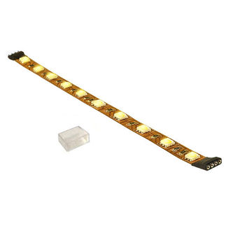 (12 Inch) 4.5 Watt - Warm White - 180 Lumens - 12 Volt - High Output - Dimmable LED Tape Light