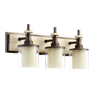 Quorum 5064-3-86 - Bathroom Sconce - 3 Light