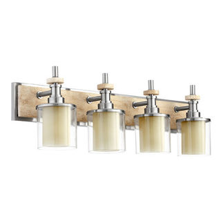 Quorum 5064-4-65 - Bathroom Sconce - 4 Light