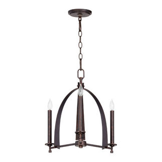 Quorum 6019-3-84 - European Chandelier - 3 Light