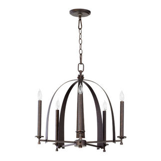 Quorum 6019-5-84 - European Chandelier - 5 Light