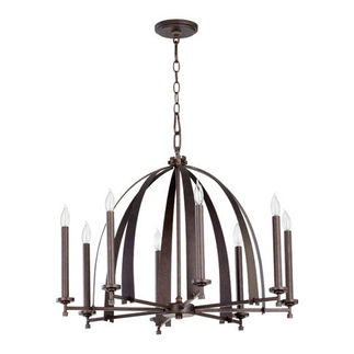 Quorum 6019-8-84 - European Chandelier - 8 Light