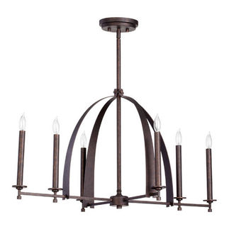 Quorum 6619-6-84 - Island Pendant - 6 Light