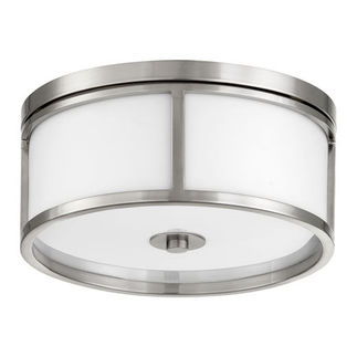 Quorum 3200-15-65 - Flush Mount Fixture - 3 Lights