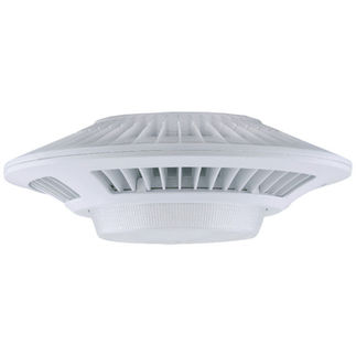 RAB GLED78W - 78 Watt - LED - Garage Light Fixture - 5000K Stark White - 120/208/240/277 Volt - White Finish